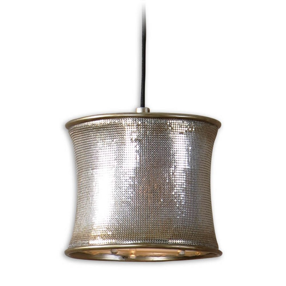 Metal Drum Shade Mini Pendant