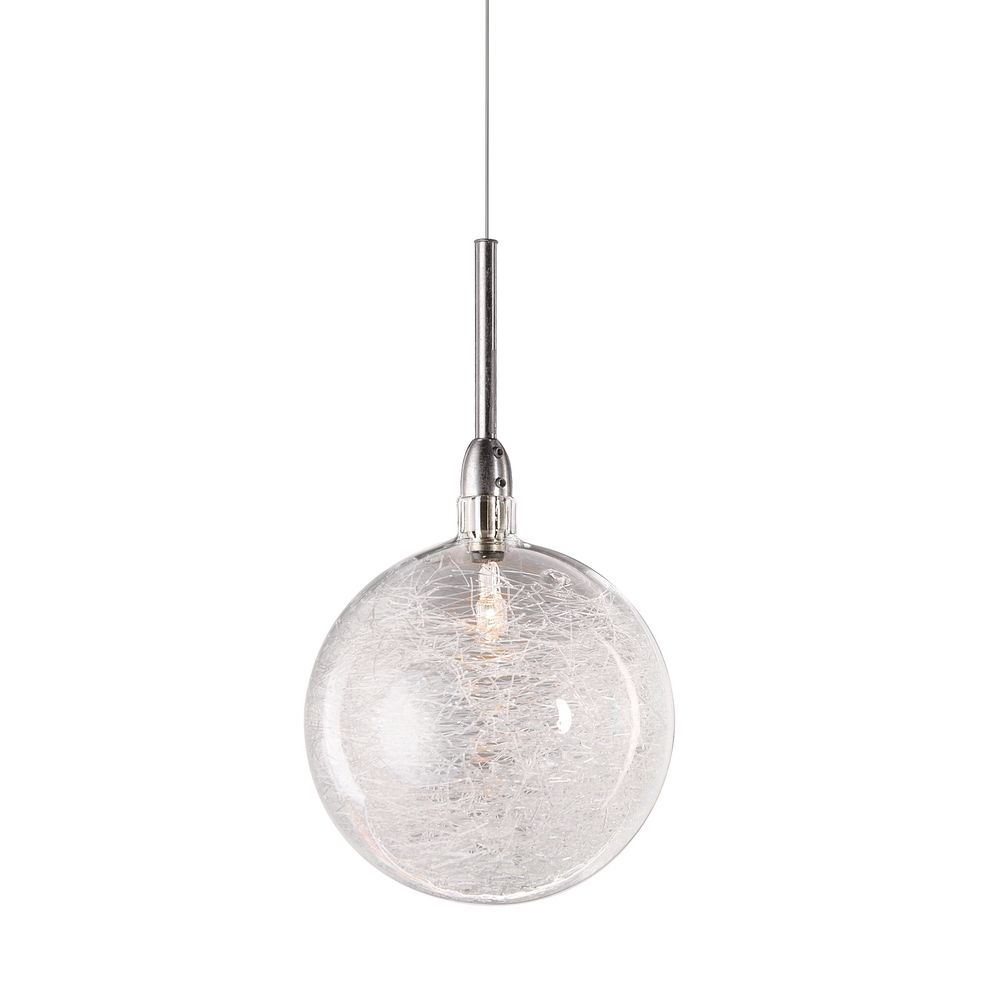 Threaded Glass Globe Mini-Pendant | E20108-79 ...