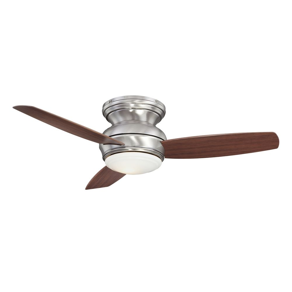 44 Inch Wet Rated Ceiling Fan With Light Kit