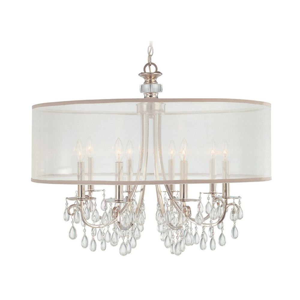 Design450450 Shade Crystal Chandelier Crystal Chandeliers – Crystal Chandelier with Shade