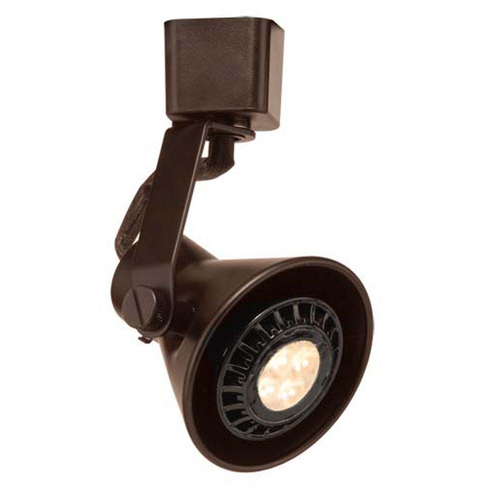 Led Track Lighting Bronze: WAC Lighting Dark Bronze LED Track Light J-Track 3000K