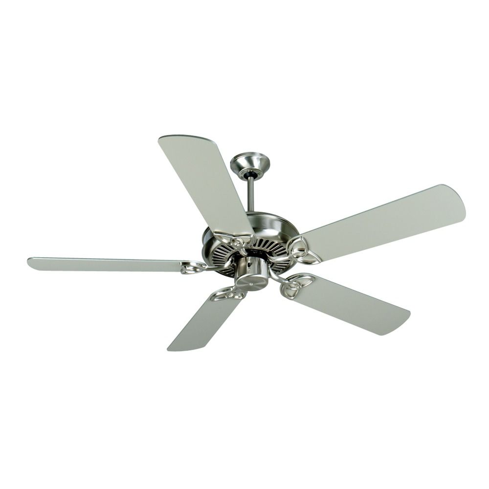 Stainless Steel Fan : Craftmade lighting cxl stainless steel ceiling fan without