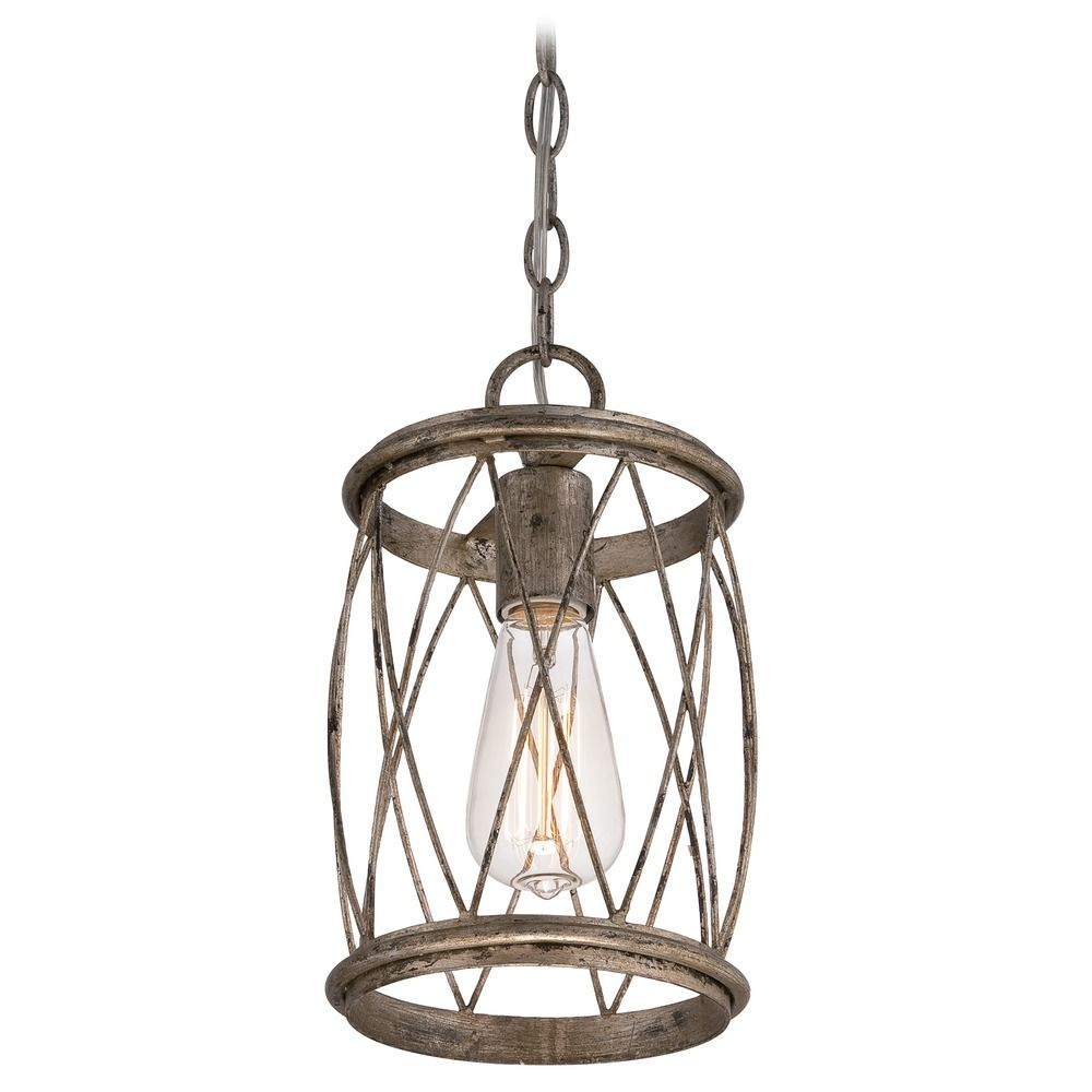 Quoizel Chamber Darkest Bronze Pendant Light with Globe ... |Quoizel Pendant Lighting