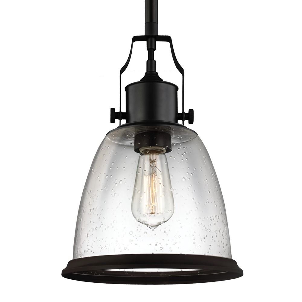 Feiss Hobson Oil Rubbed Bronze Mini Pendant Light