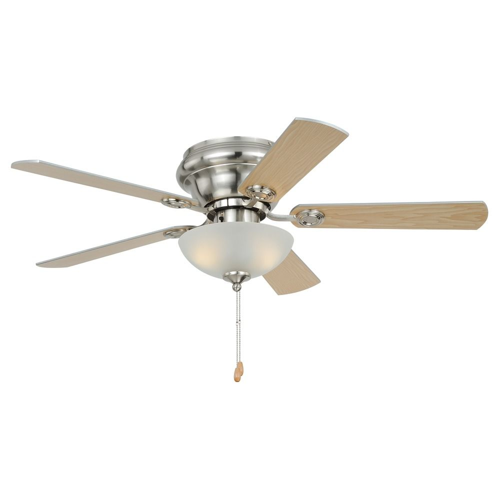 Expo Satin Nickel Ceiling Fan With Light By Vaxcel Lighting Alt1