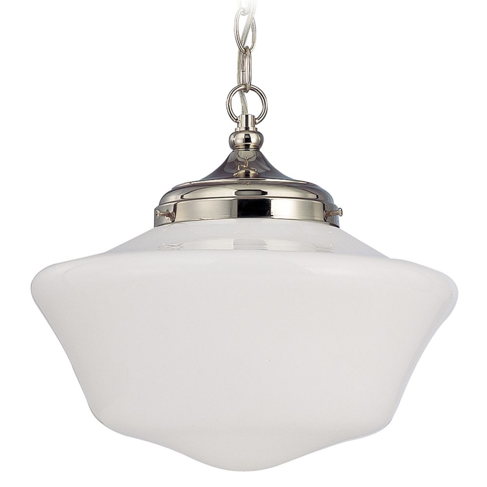 14 Inch Period Lighting Schoolhouse Pendant Light With