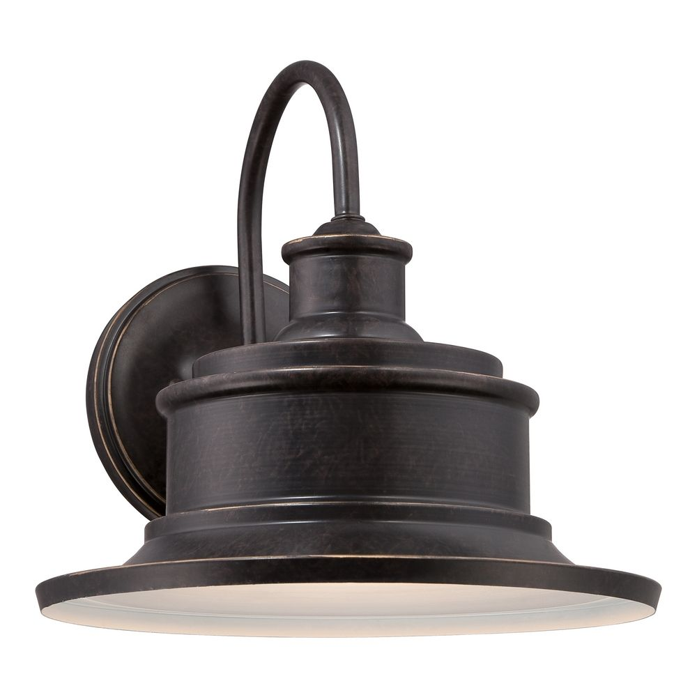 Quoizel Lighting Seaford Imperial Bronze Outdoor Wall Light Sfd8409ib