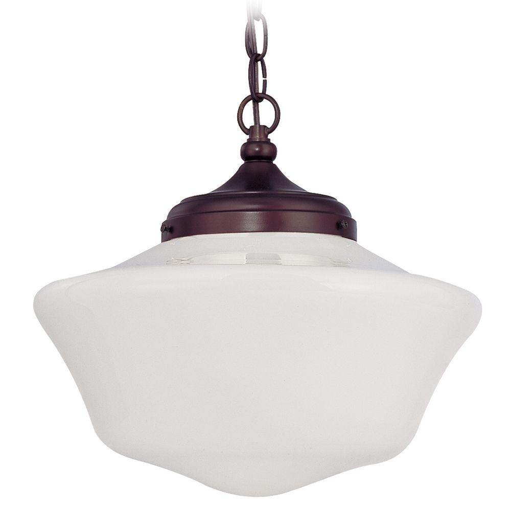 14 inch schoolhouse pendant light with chain fa6 220 ga14 a product image arubaitofo Gallery