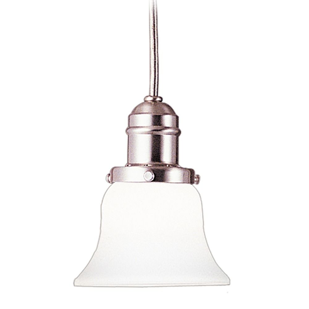 Hudson Valley Lighting Mini Pendant: Hudson Valley Lighting Vintage Collection Satin Nickel
