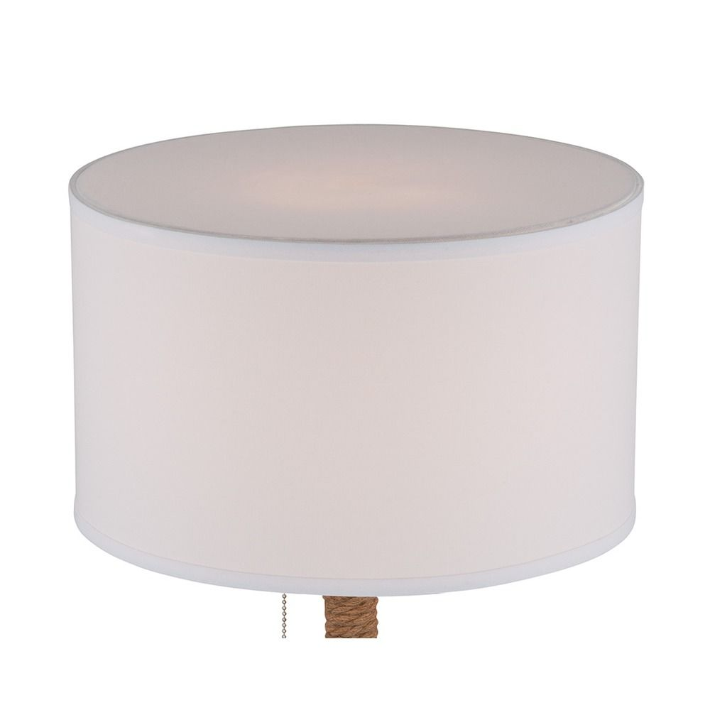 Lite Source Trixie Silver Table Lamp With Drum Shade Ls 22762 Destination Lighting