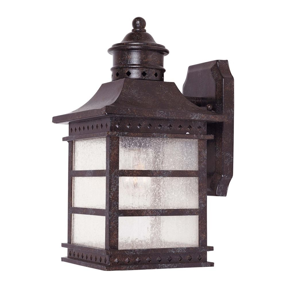 Savoy House Rustic Bronze Outdoor Wall Light