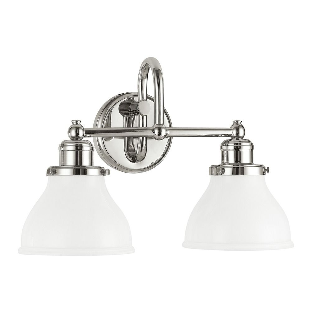 Capital Lighting Baxter Polished Nickel Bathroom Light 8302pn 128 Destination Lighting