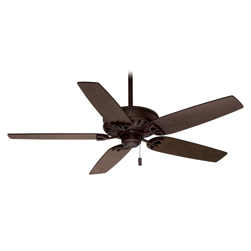 Casablanca Fan Concentra Brushed Cocoa Ceiling Fan Without