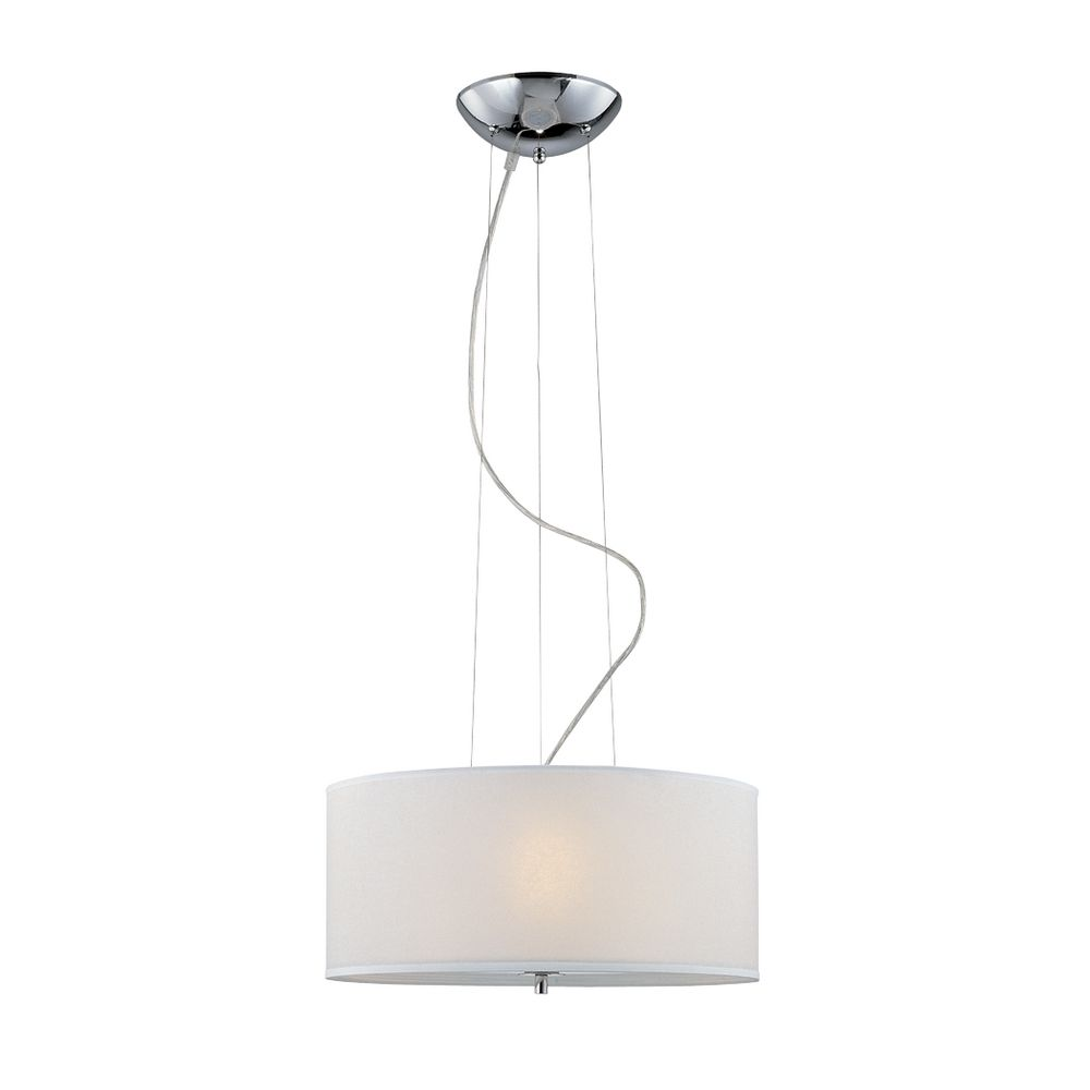 white drum shade pendant ls 19148 destination lighting