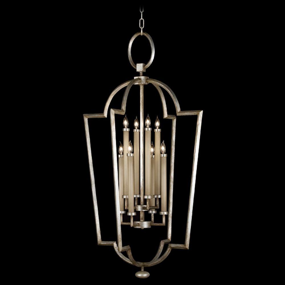 Fine Art Lamps Allegretto Silver Platinized Silver Leaf