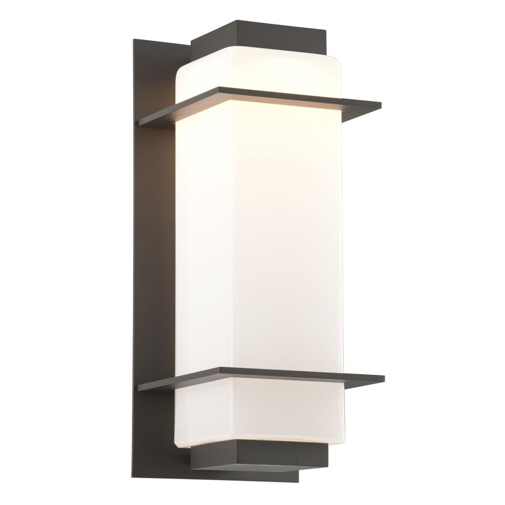 Troy landscape lighting transformer : Troy lighting paradox bronze led outdoor wall light