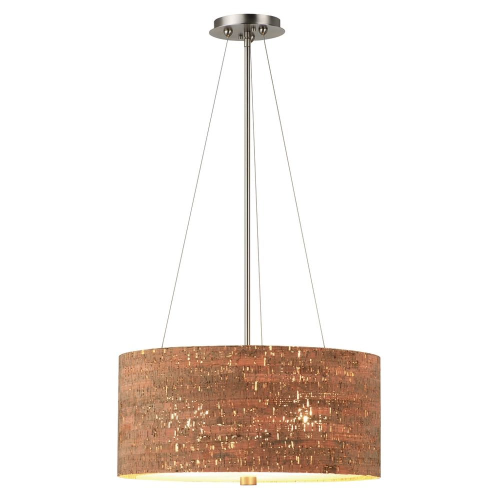 Drum Shade Pendant Lighting