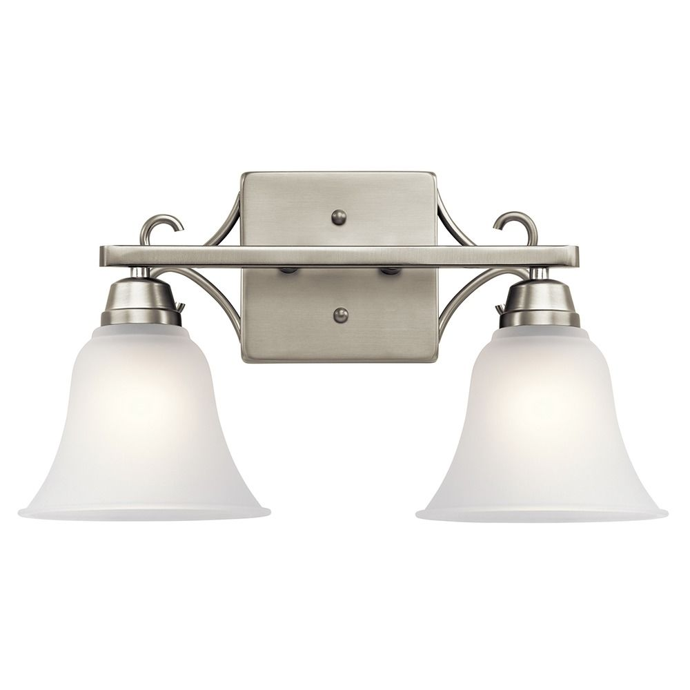 Kichler Lighting Bixler Brushed Nickel Bathroom Light