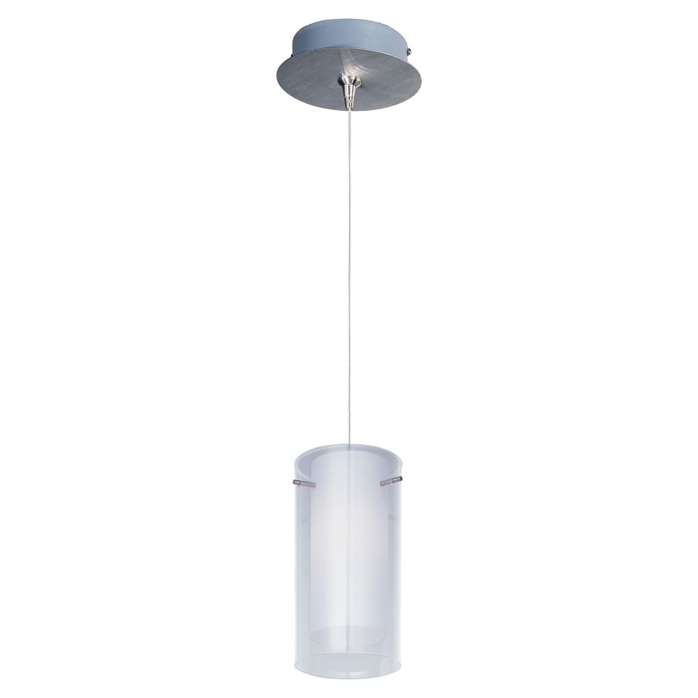 Modern low voltage mini pendant light with white glass for Modern white pendant lighting
