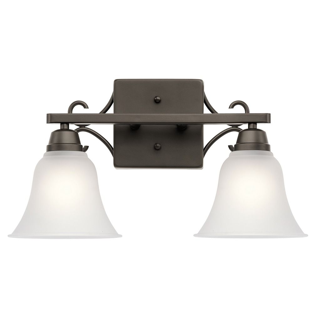 Kichler Lighting Bixler Olde Bronze Bathroom Light