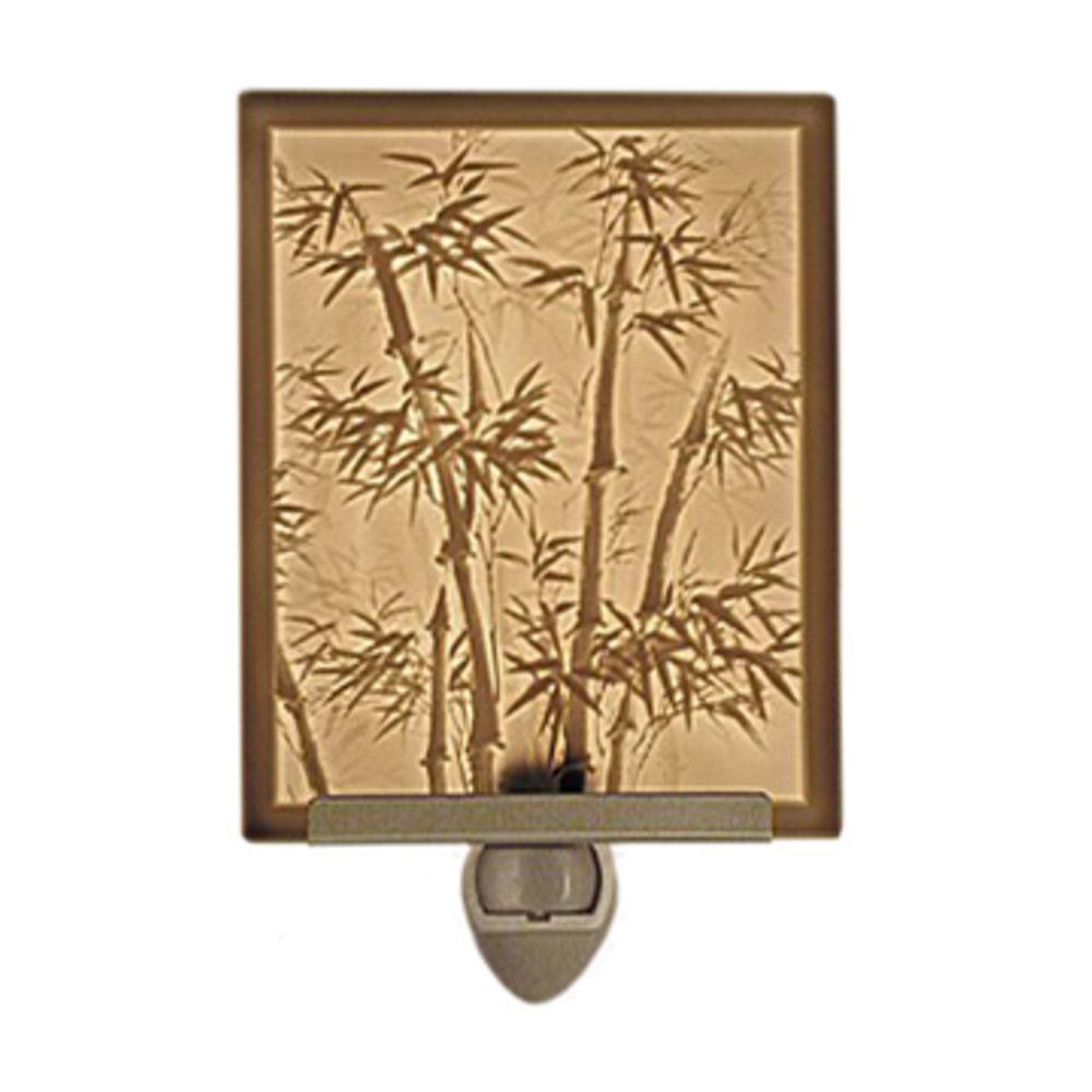 bamboo motif lithophane night light - Decorative Night Lights