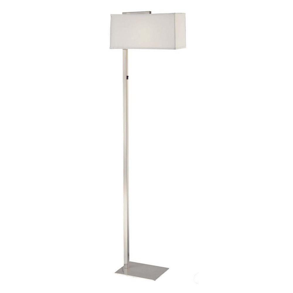 Led floor lamp with rectangular shade 6091 1 09 sh735510w led design classics lighting led floor lamp with rectangular shade 6091 1 09 sh7355 aloadofball Gallery