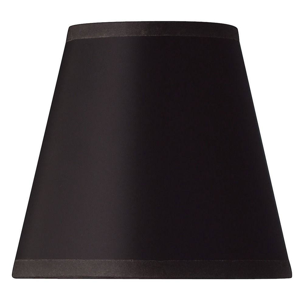 Black Parchment Bell Lamp Shade With Clip On Embly At Destination Lighting