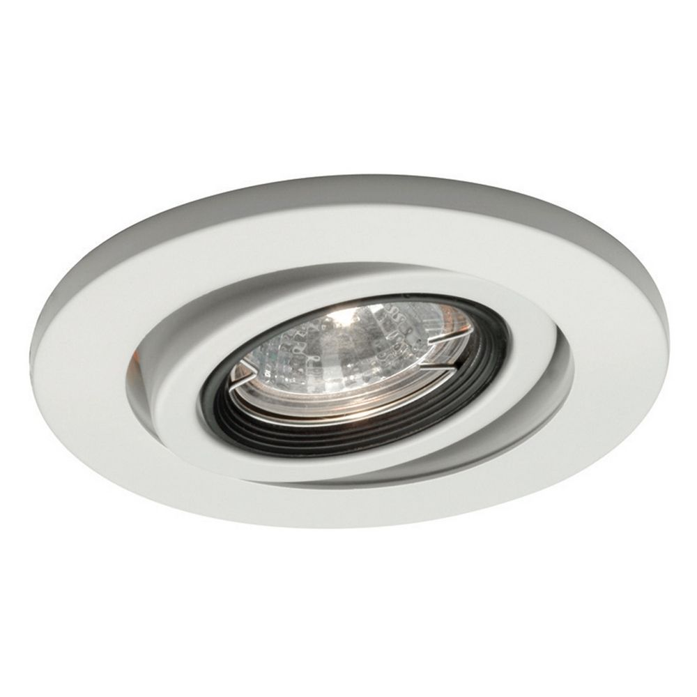 Wac Lighting 4 Quot Round Eyeball Gimbal Ring White Recessed