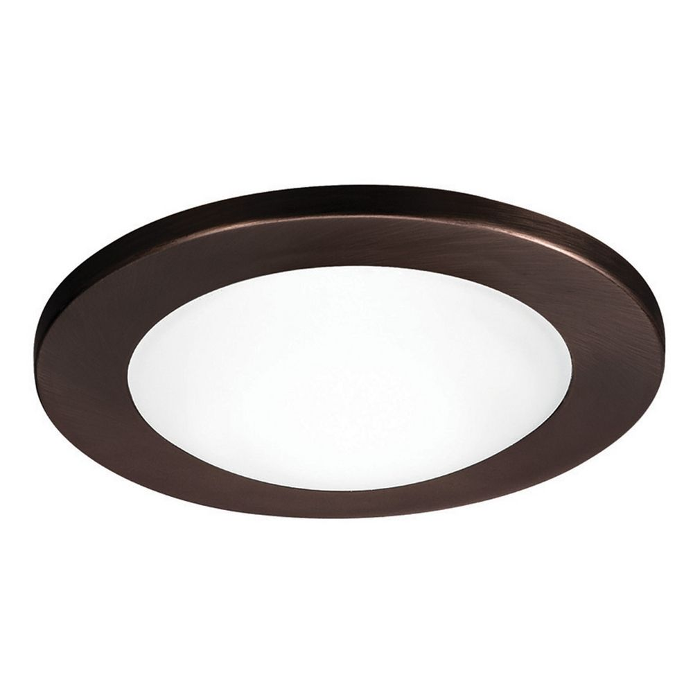 wac lighting 4 round shower closet copper bronze recessed trim hr d. Black Bedroom Furniture Sets. Home Design Ideas