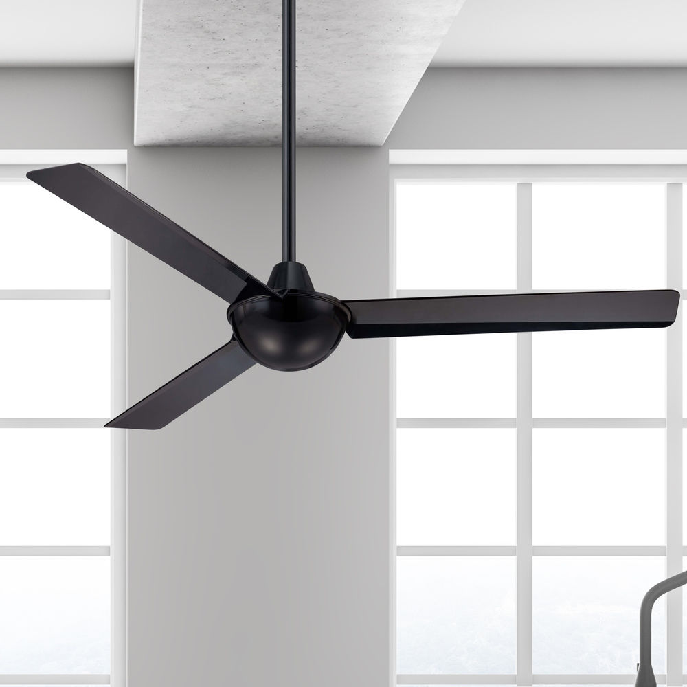 52 Inch Modern Ceiling Fan Without