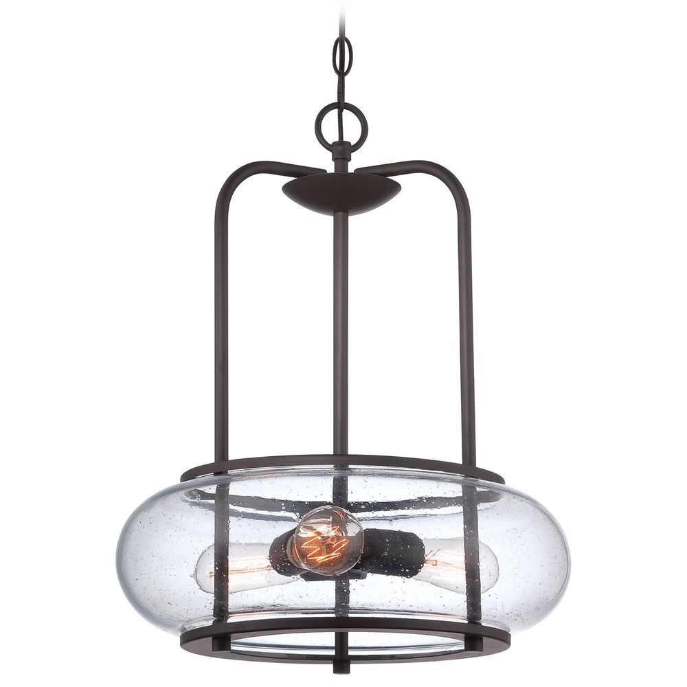 Shop Quoizel Fairgate Silver Multi-Light Modern Drum ... |Quoizel Pendant Lighting
