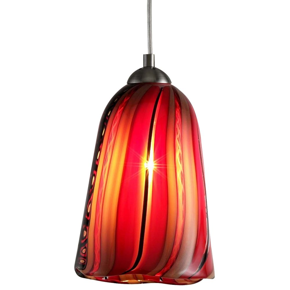 murano glass mini pendant light 18 l0158m destination lighting. Black Bedroom Furniture Sets. Home Design Ideas