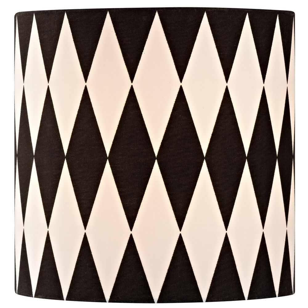 Black white drum lamp shade with uno assembly sh9489 design classics lighting black white drum lamp shade with uno assembly sh9489 aloadofball Image collections