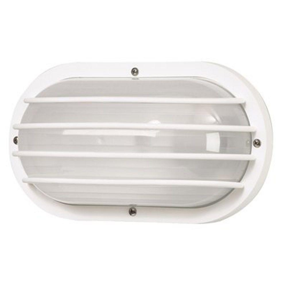 White oval bulkhead marine outdoor wall light with frosted acrylic white oval bulkhead marine outdoor wall light with frosted acrylic aloadofball Choice Image