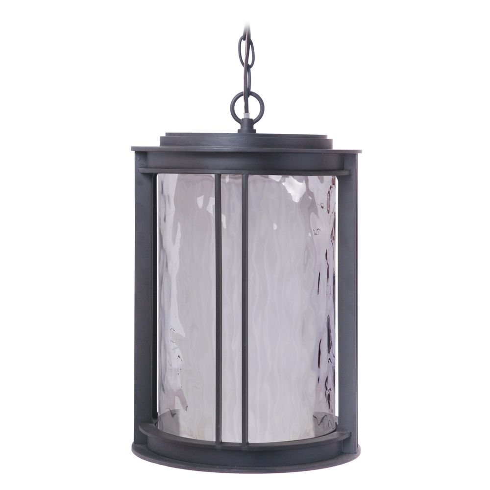 craftmade lighting brentwood oiled bronze led outdoor hanging light