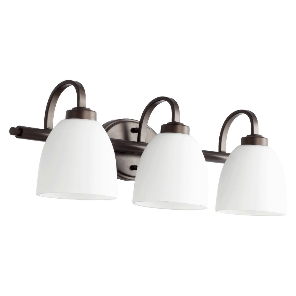 Quorum Lighting Reyes Oiled Bronze Bathroom Light 5060 3