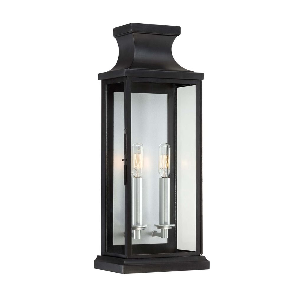 Savoy House Black Outdoor Wall Light 5 5911 Bk