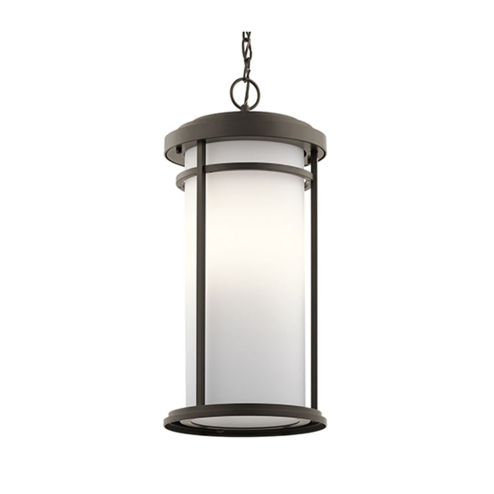 Kichler Lighting Toman Olde Bronze LED Outdoor Hanging Light 49689OZL16 D