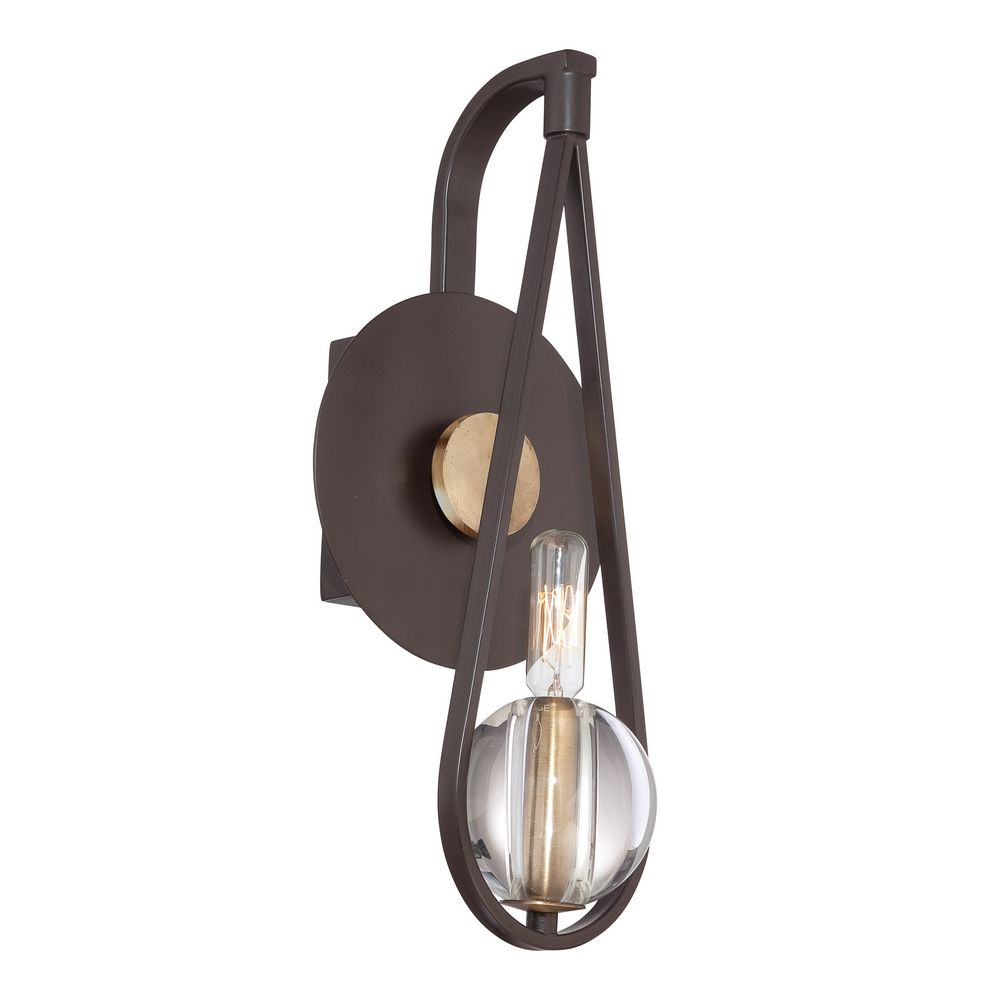 Quoizel Uptown Seaport Western Bronze Sconce