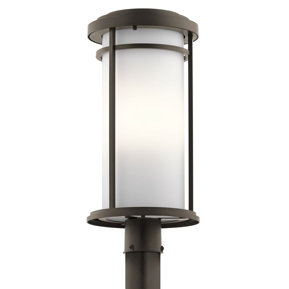 Kichler Lighting Toman Olde Bronze LED Post Light 49690OZL16 Destination