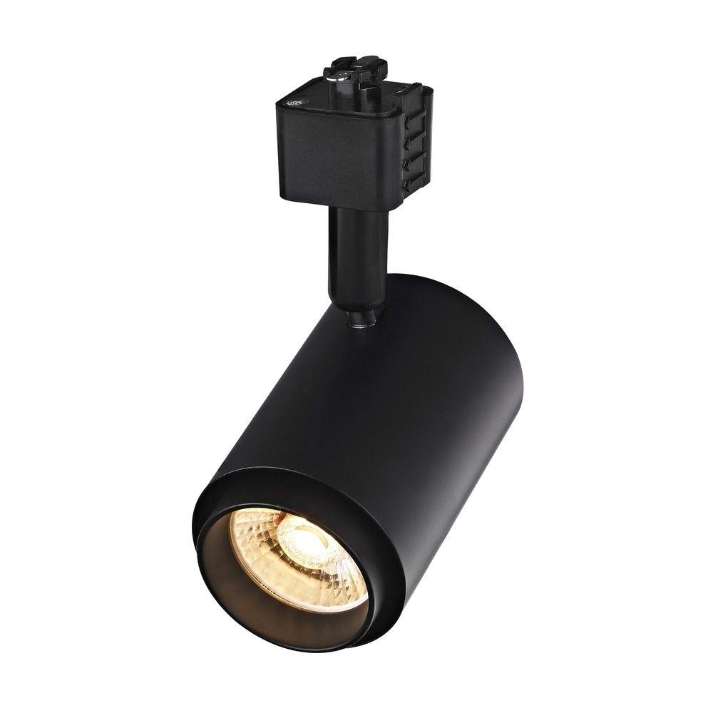 black led track head cylinder light for juno track systems 2700k 875lm tr1011j bk. Black Bedroom Furniture Sets. Home Design Ideas