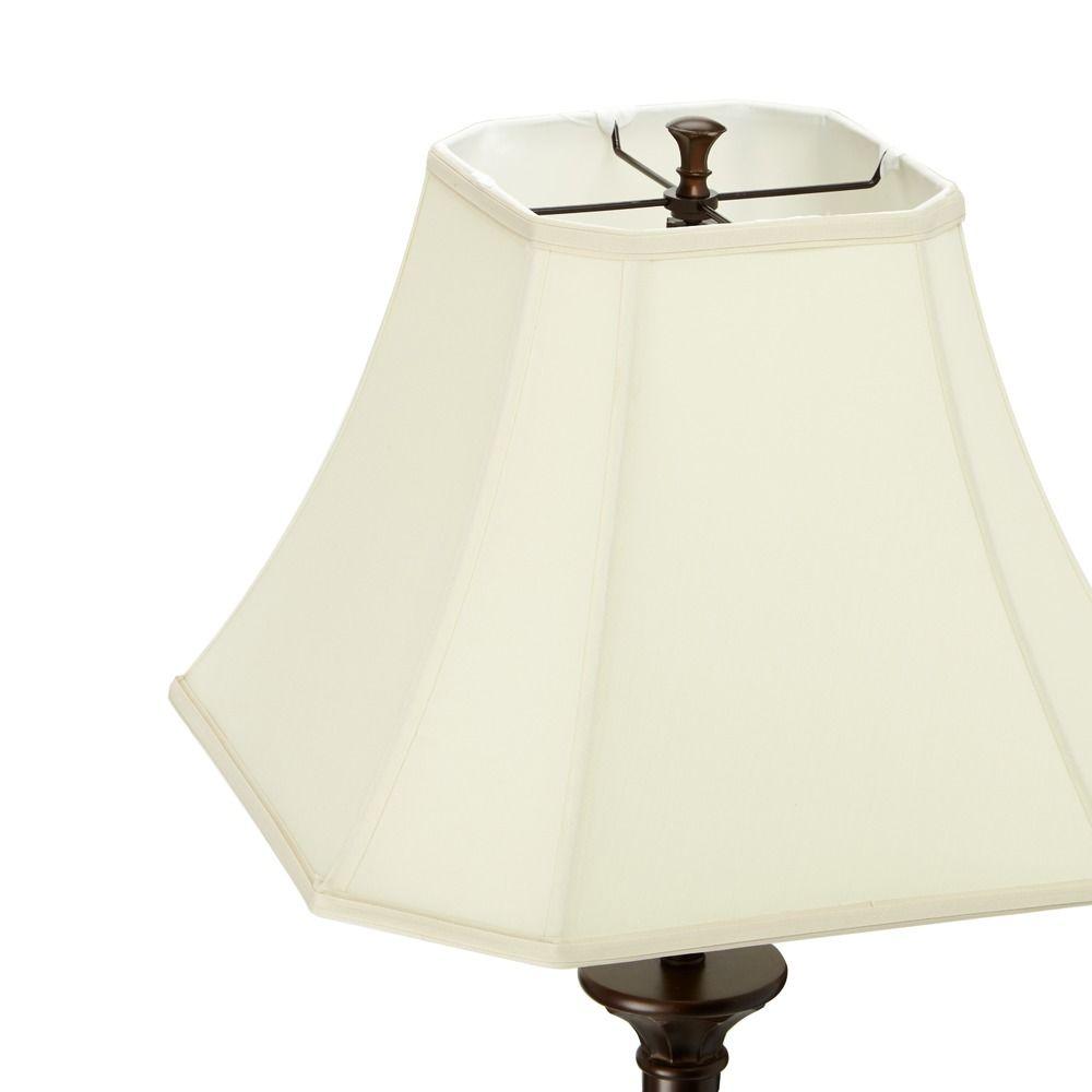 Traditional bronze floor lamp with cut corner lamp shade dcl m6490 traditional bronze floor lamp with cut corner lamp shade alt2 aloadofball Choice Image