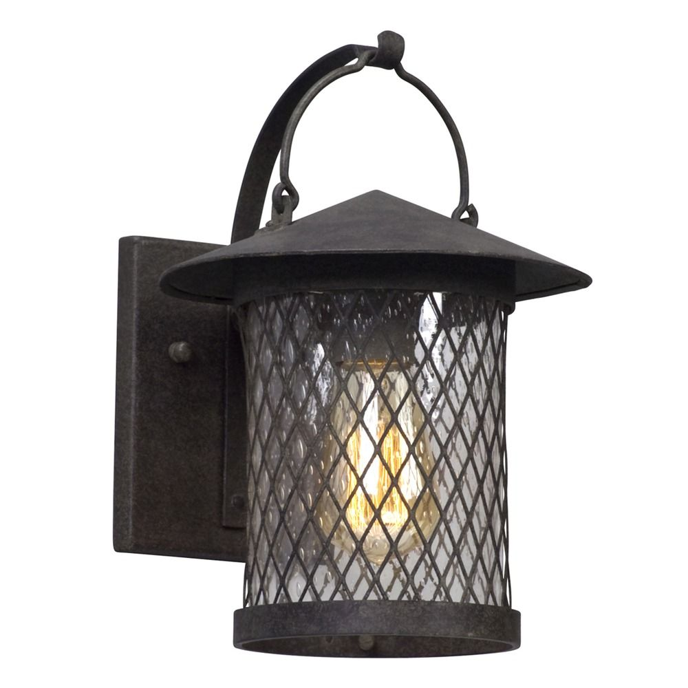 Iron Outdoor Wall Sconces : Troy Lighting Altamont French Iron Outdoor Wall Light B5171 Destination Lighting