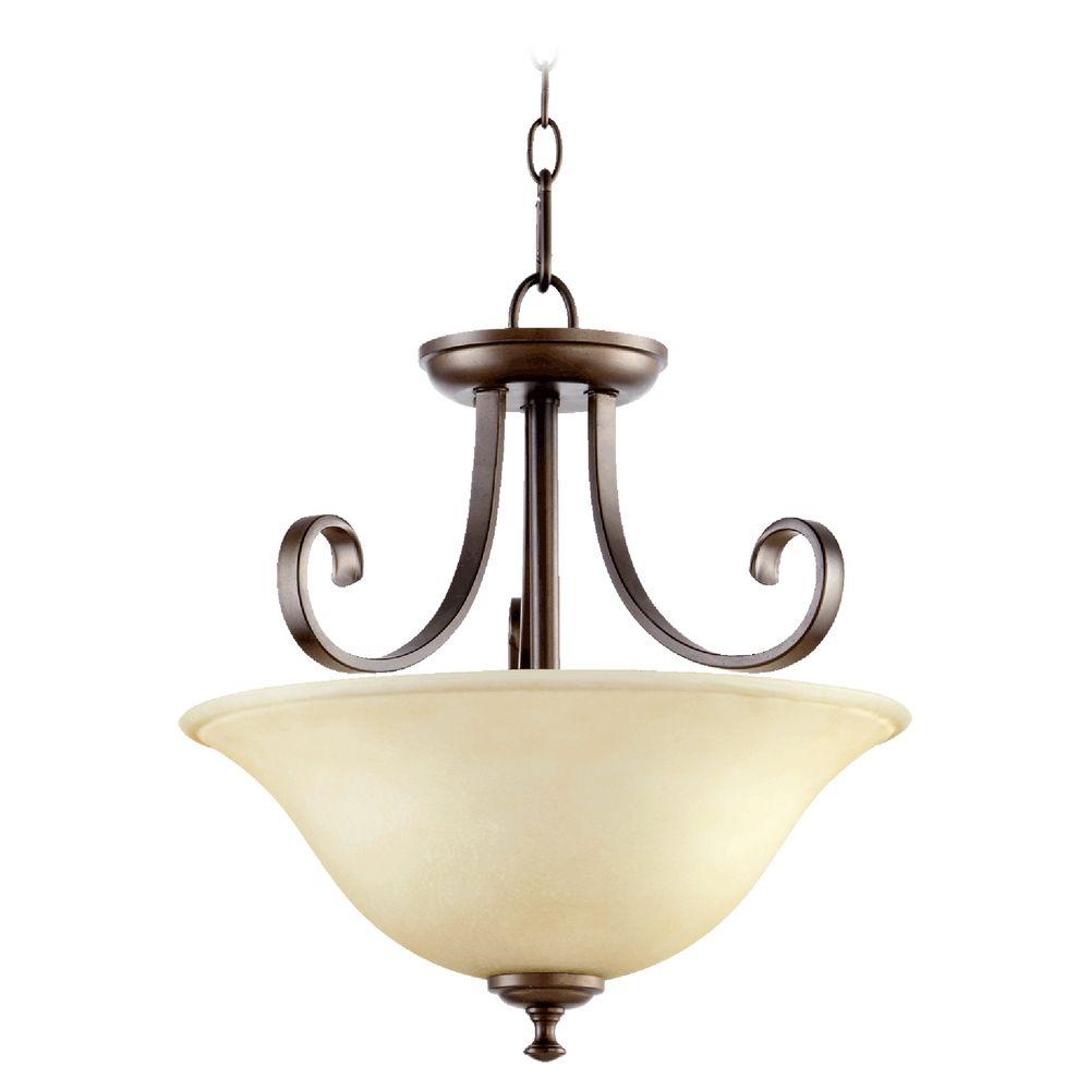 Quorum Lighting Celesta Oiled Bronze Pendant Light