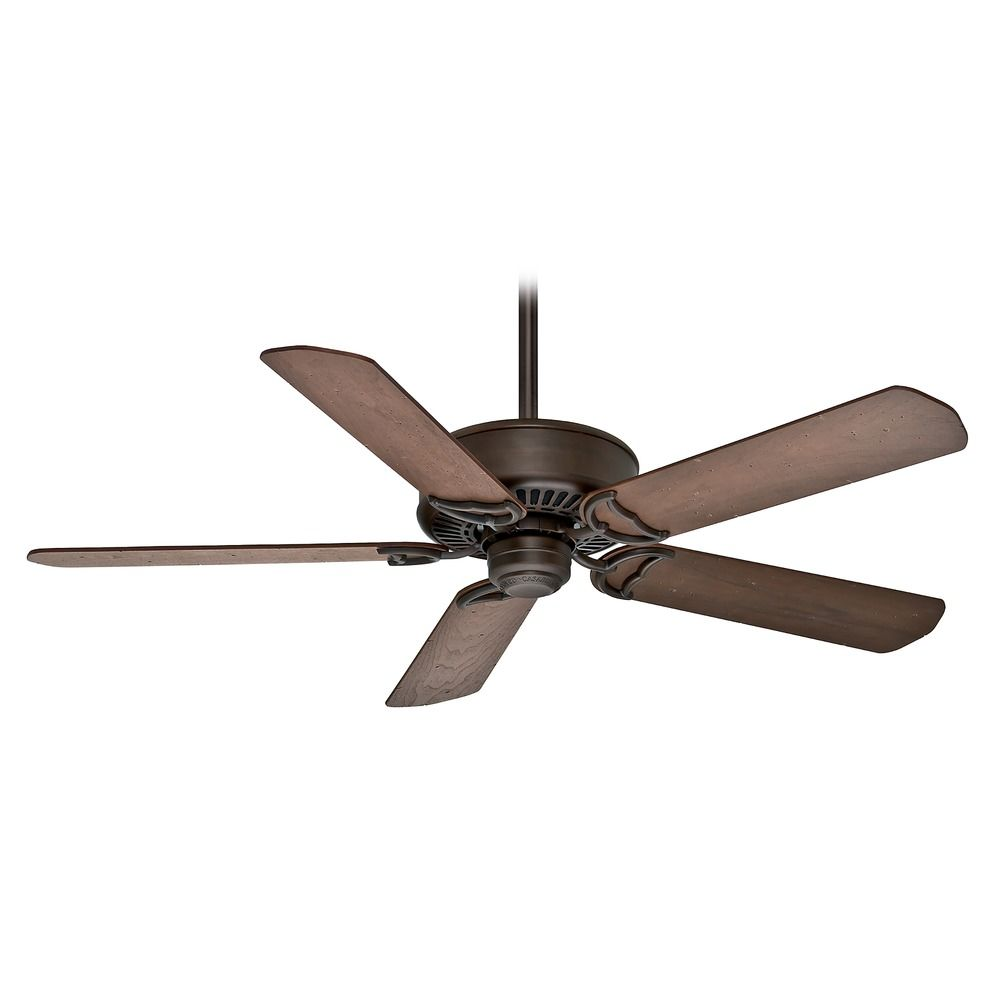 casablanca fan panama dc brushed cocoa ceiling fan without light 59512. Black Bedroom Furniture Sets. Home Design Ideas