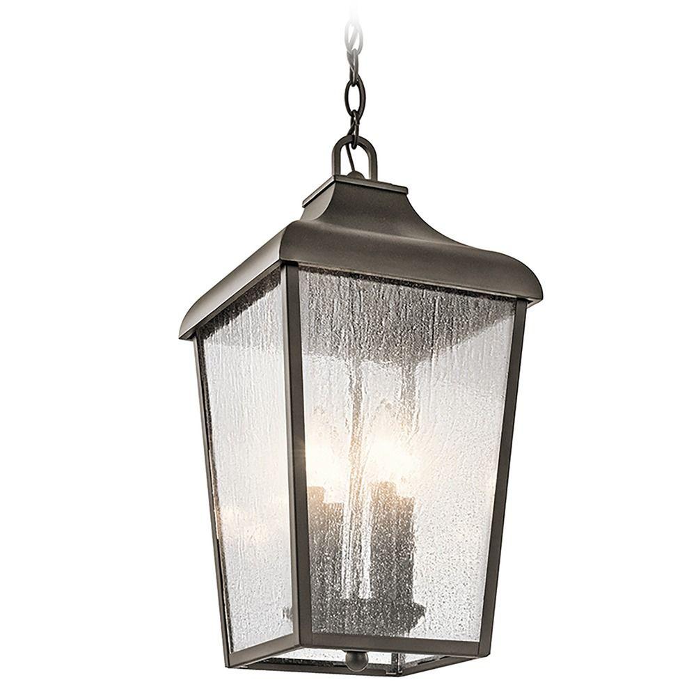 Kichler Lights Outdoor: Kichler Lighting Forestdale Olde Bronze Outdoor Hanging