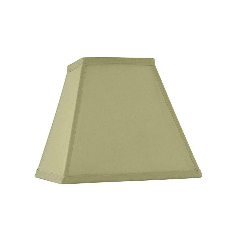 spider square light green lamp shade sh9618. Black Bedroom Furniture Sets. Home Design Ideas