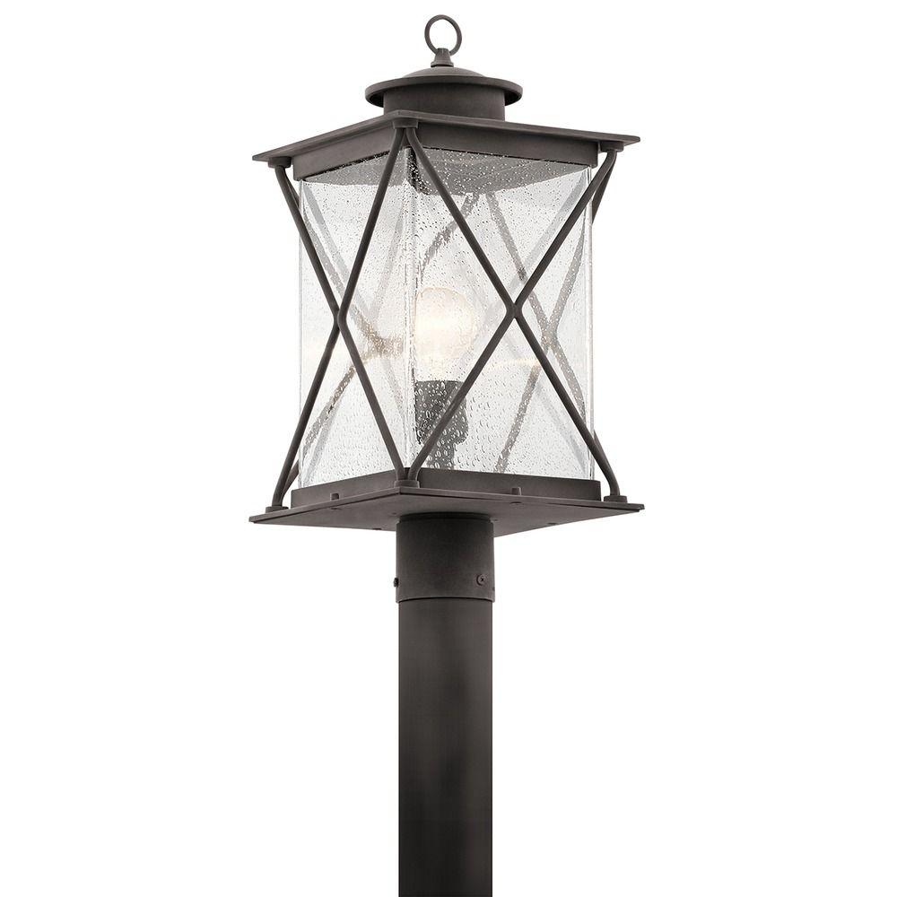Kichner Lighting: Kichler Lighting Argyle Weathered Zinc Post Light
