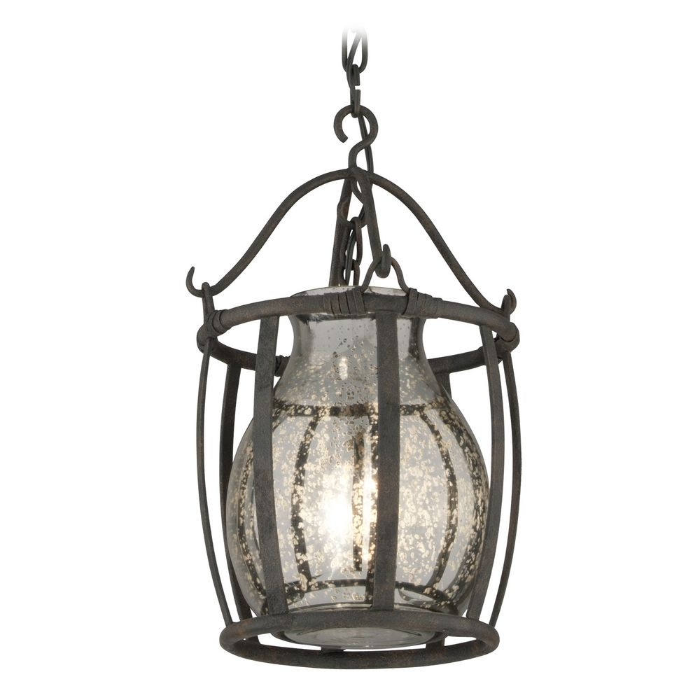Mercury glass light fixtures - Troy Lighting Mini Pendant Light With Mercury Glass F3594 Hover Or Click To Zoom