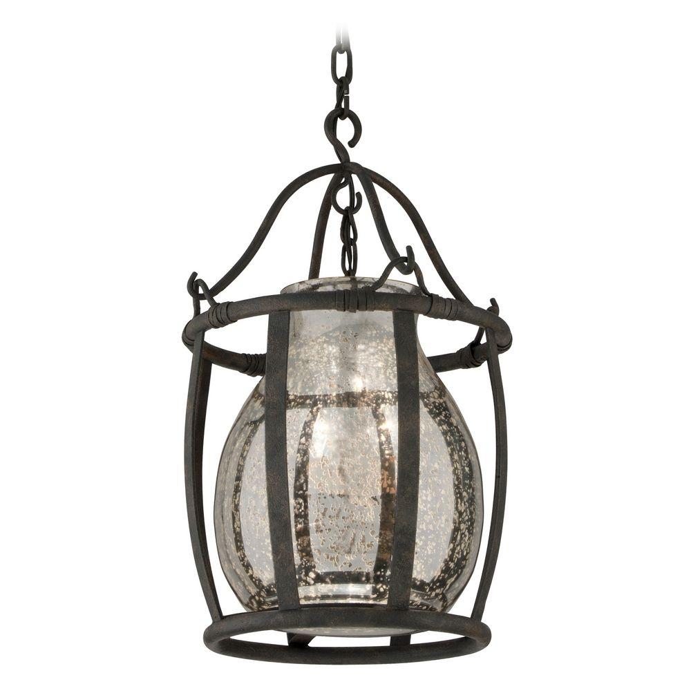 Mercury glass light fixtures - Product Image
